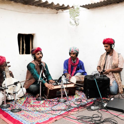 Dapu Khan and Group being documented.